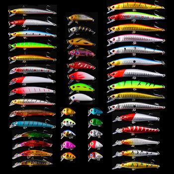 48 sztuk partia 2018 nowy przynęty Top nowe przynęty Minnow Popper korby przynęty sprzęt wędkarski 48 kolory żaba przynęty twarde przynęty przynęty zestaw tanie i dobre opinie Rzeka Zbiornik staw Morze łodzi rybackich Ocean beach fishing Stream Jezioro LURE sunlure DWS480 Sztuczne przynęty As Picture Show