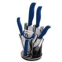 XYJ Brand Ceramic Knife Set 3 4 5 6 Paring Utility Slicing Chef Knife Peeler Knife
