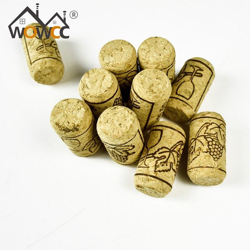 15pcs Lot Straight Bottle Wood Corks Wine Bottle Stopper