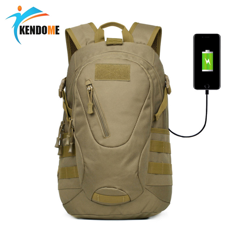 Men's Sport Outside Pack Backpack Army Military Tactical Waterproof Bag 20L Rucksack for Outdoor Hiking Camping Hunting Bag