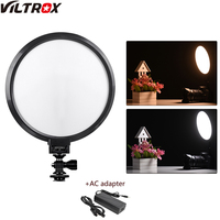 Viltrox VL 300T Camera LED Video Light Bi Color Dimmable Photo Studio Light for Portrait Children Macro Still Life Photography