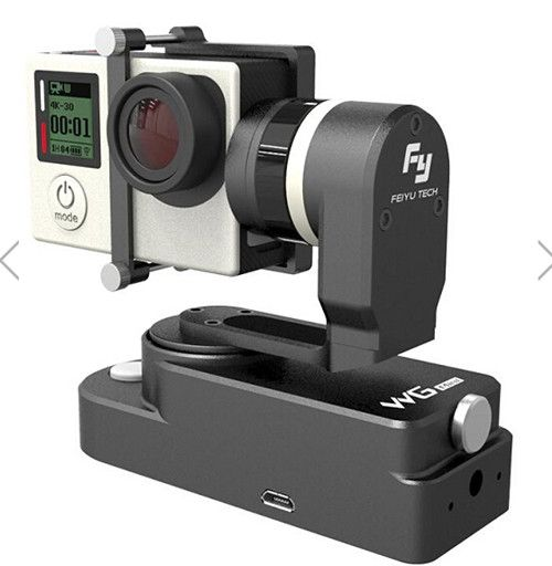 Feiyu Tech FY-WG Mini 2 Axle Wearable Gimbal for Gopro 3 3+ 4 Camera original feiyu tech fy wg lite wg series mental single axis wearable gimbal in stock