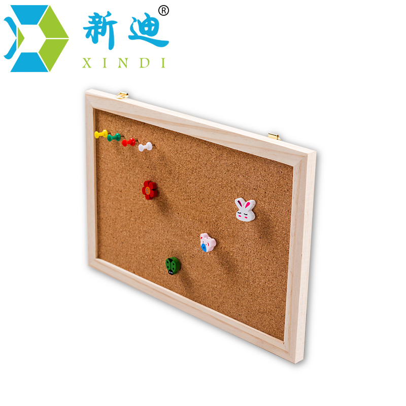 Free Shipping 2017 Natural Wood Frame Cork Message Board Cork Board Office Supplier 30*40cm Factory Direct Sell Home Decorative free shipping car refitting dvd frame dvd panel dash kit fascia radio frame audio frame for 2012 kia k3 2din chinese ca1016