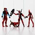 Nuevo 4 unids/lote Marvel X-men Dead pool Deadpool acción PVC Figure Collection modelo de juguete
