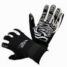 2 мм неопрен профессиональные перчатки для подводного плавания теплые и Нескользящие подводное оборудование гидрокостюм мокрый костюм