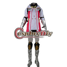 Cosplaydiy Tales of Zestiria Alisha Costume Adult Women Halloween Carnival Game Costume Tales of Zestir Costume Custom Made