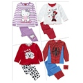 Fashion 2015 Autumn Cartoon Baby Pajamas Suit Kids Clothes Shit Pants Infant Pajama Girls Clothing Sets Toddler Boys Clothing