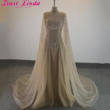 Элегантные вечерние платья с кристаллами и бисером, вечерние платья для выпускного вечера