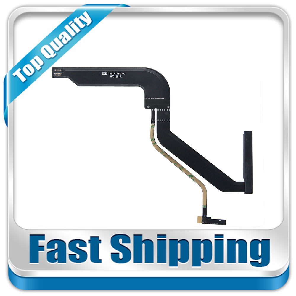 10PCS New HDD Hard Drive Flex Cable 821-1480-A For Macbook Pro 13 A1278 821-1480-A 923-0104 / 0741 MD101 MD102 2012 Year new perfect laptop led flex cable for macbook pro 13inch a1278 lcd cable display screen flex cable 2012year md101 md102