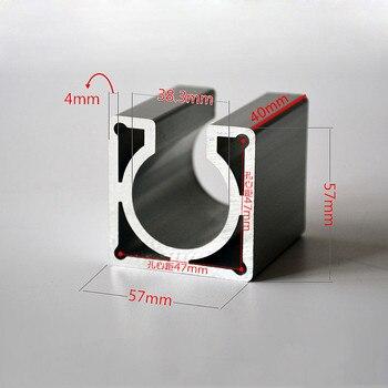 цена на Nema23 Nema34 Stepper Motor mounts base 57mm 86mm stepper motor bracket for diy cnc machine tools