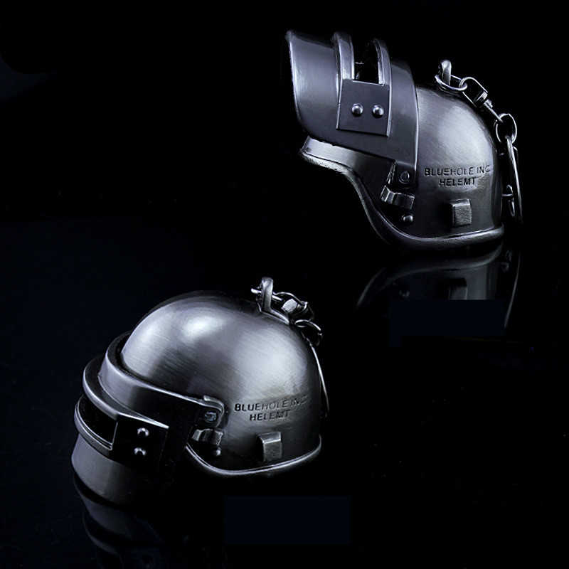 Jogo playerunknown campos de batalha pubg forças especiais capacete cosplay adereços armadura nível 3 capacete chaveiro pingente brinquedo
