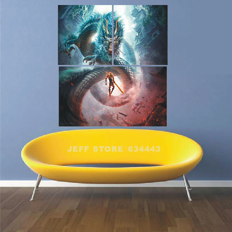 3 Piece Canvas Art Sets Hand Made Modern Abstract Oil Paintings ...