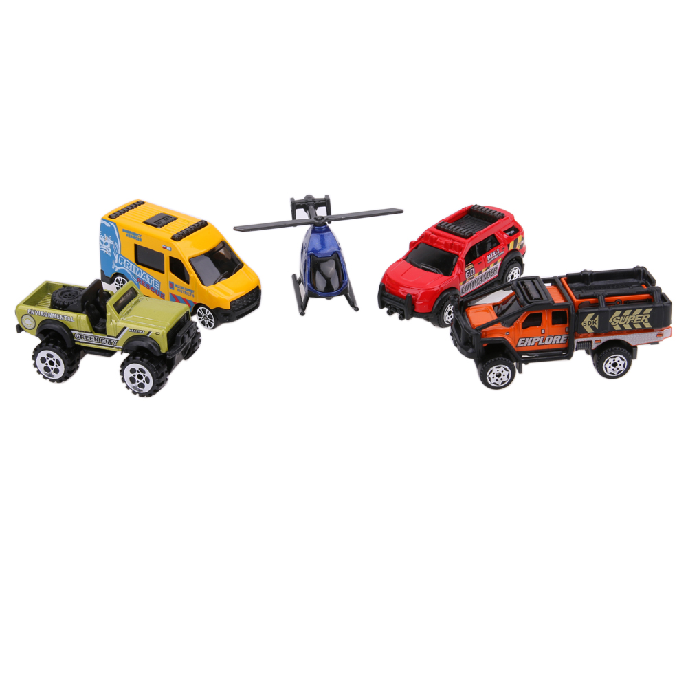 2017 Newest 5pcs/Set 1:64 Scale Alloy Car Models Kids Children Educational Pull Back Car Toy Christmas Gift Set For Boys