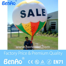 AO066 Free shipping 2 5mH 0 18mm PVC giant inflatable advertising floating helium balloon inflatable hot