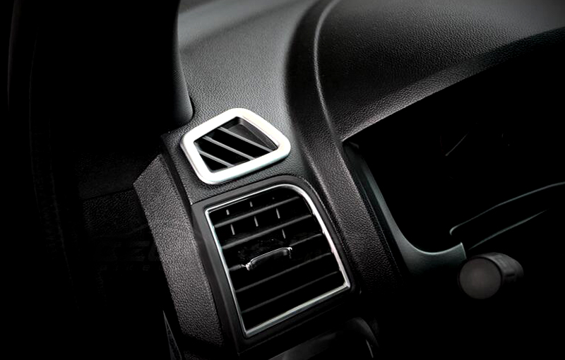 Upper air condition vent outlet cover trim 2pcs for ford - 2013 ford explorer interior parts ...