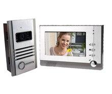 Yobang Security TFT Color LCD Video Intercom Door Phone System Night Vision Visual Doorbell Hands Free Monitor Intercom Doorbell