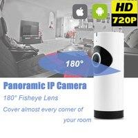 Home Security Surveillance Fish Eye Lens IP Camera WiFi Baby Monitor Wireless Two Way Audio Panoramic