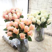 Νέα τεχνητά λουλούδια Rose Peony Flower Αρχική σελίδα Διακόσμηση Γάμος Νυφική ανθοδέσμη λουλουδιών Υψηλής ποιότητας 9 χρώματα