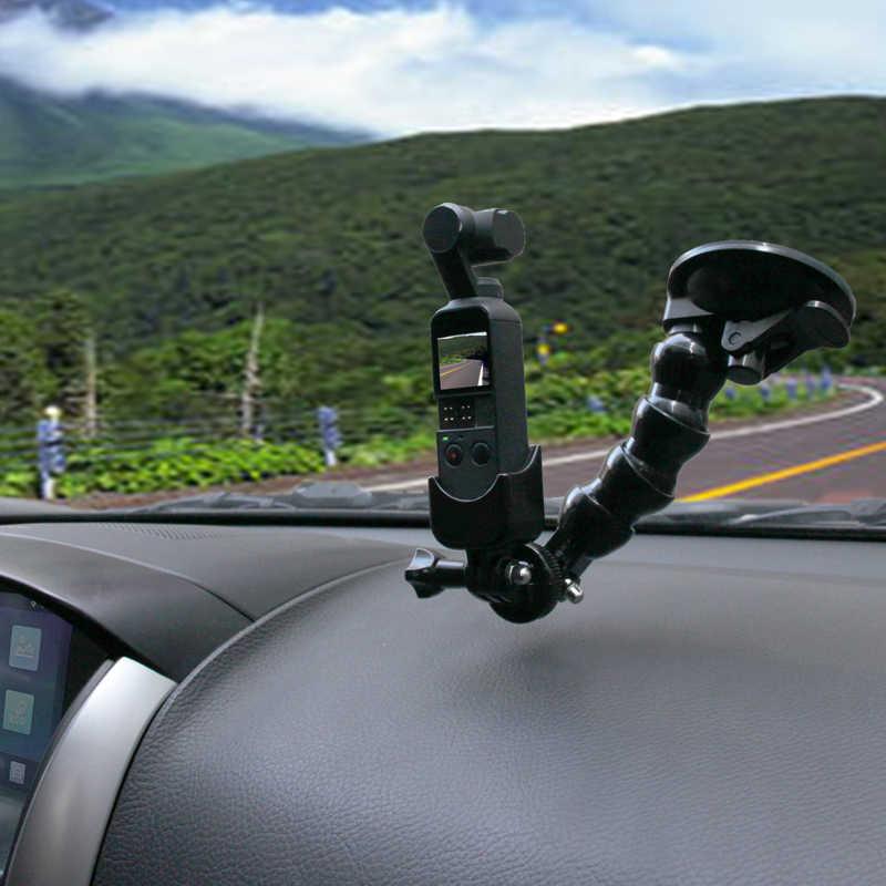 Присоска для автомобиля, стекло, держатель на присоске, адаптер для камеры, регистратор для вождения, шаровая Головка, штативы для DJI OSMO, Карманный ручной карданный стабилизатор