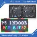 Indoor P5 Dois Módulos Em Um 1/16 de Digitalização SMD3528 3in1 RGB Full color display LED módulo unidade 320*160mm 64*32 pixels