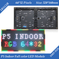 Indoor P5 Two Modules In One 1/16 Scan SMD3528 3in1 RGB Full color LED display unit module 320*160mm 64*32pixels