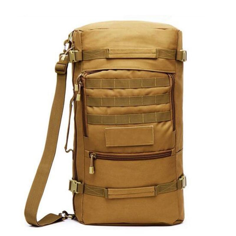 ФОТО Popular 60 l bag  male camouflage bag  backpack multifunctional  high grade fashion leisure laptop  Men's bags
