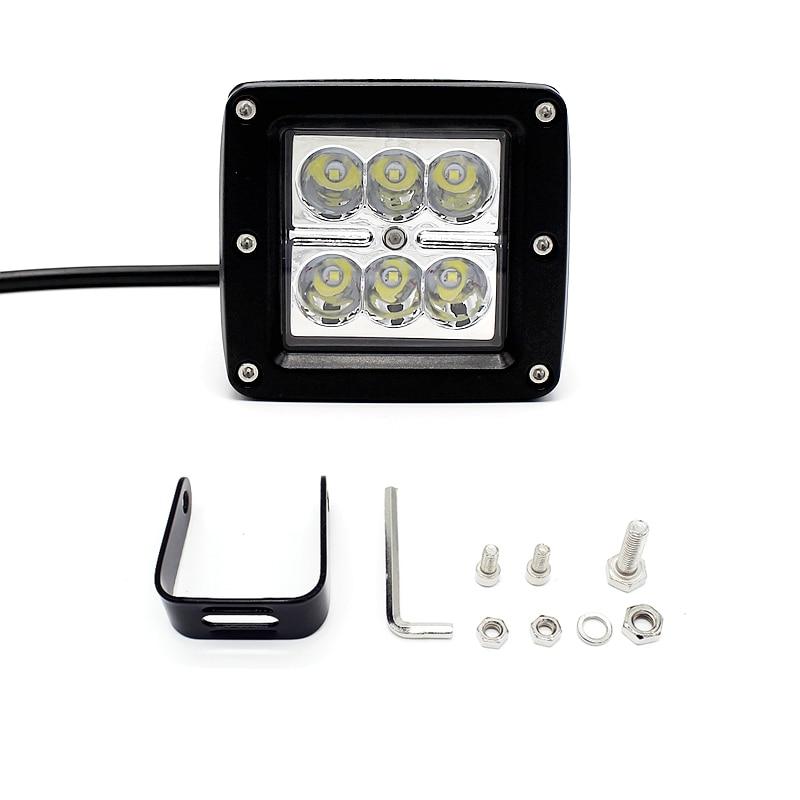Tak Wai Lee 1Pcs / Set 18W 3Inch LED Avtomobil işığında yüngül - Avtomobil işıqları - Fotoqrafiya 5