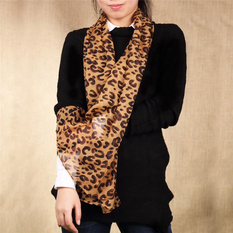 Long Sexy Leopard Scarf 1PC Animal Print Zebra Line Woman High Quality Square Scarves  2017 New Arrival Lady Shawl Wholesale