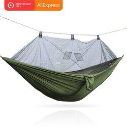 Hamak moskitiera 260cm x 140cm 300cm x 140cm 210T Nylon najlepsza cena dla hongkongu|Hamaki|   -
