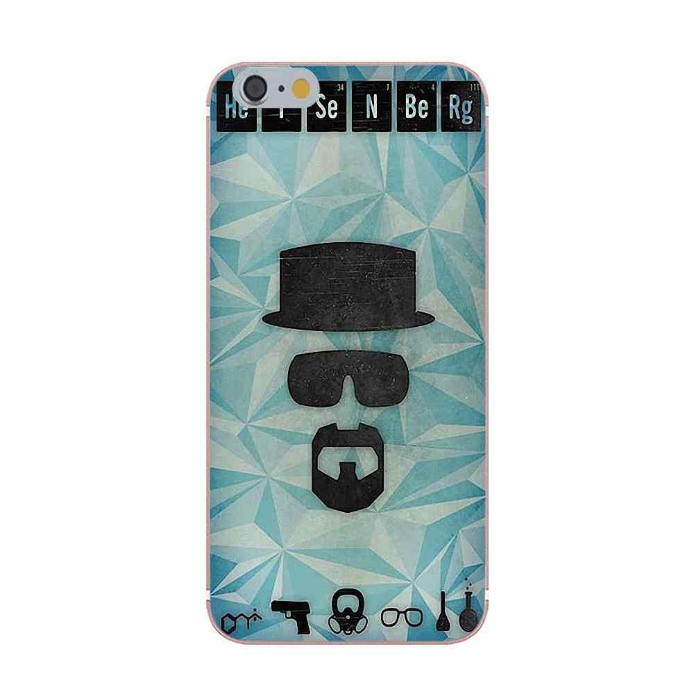 Oedmeb Heisenberg T-shirt Cool TPU Hipster étui pour samsung Galaxy A3 A5 A7 J1 J2 J3 J5 J7 2015 2016 2017