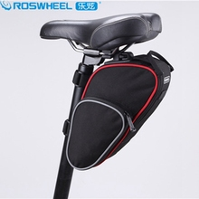 2017 Roswheel Bike Bag Bicycle Accessories Bags Cycling Green Saddle Frame Basket Seat Storage Case Transport Rear Carrier