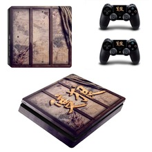 Sekiro Shadows Die Twice PS4 Slim Skin Sticker For PlayStation 4 Console and Controller For Dualshock 4 PS4 Slim Sticker Decal