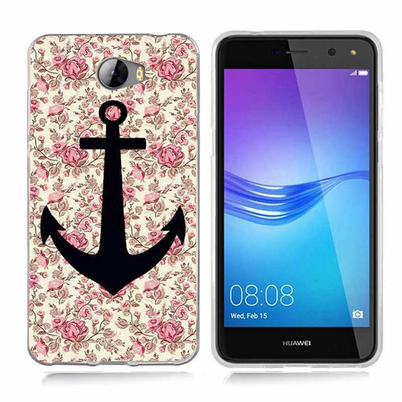 Для Huawei P9 Lite/P10 Lite Y5 ii Y5ii крышка/5A LYO-L21/Y6 II Мода цветок кактуса ТПУ Мягкий силиконовый чехол для телефона чехол A803