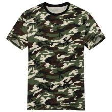 2016 New Arrival Camouflage T-shirt Men Classic Crewneck Brand T Shirt Men Plus Size Short Sleeve T Shirt For Couples