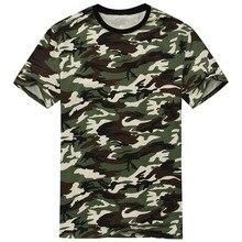 2016 New Arrival Camouflage T shirt Men Classic Crewneck Brand T Shirt Men Plus Size Short