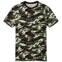 2016 nueva llegada camuflaje camiseta hombres clásico crewneck marca camiseta hombres más tamaño manga corta Camiseta para parejas