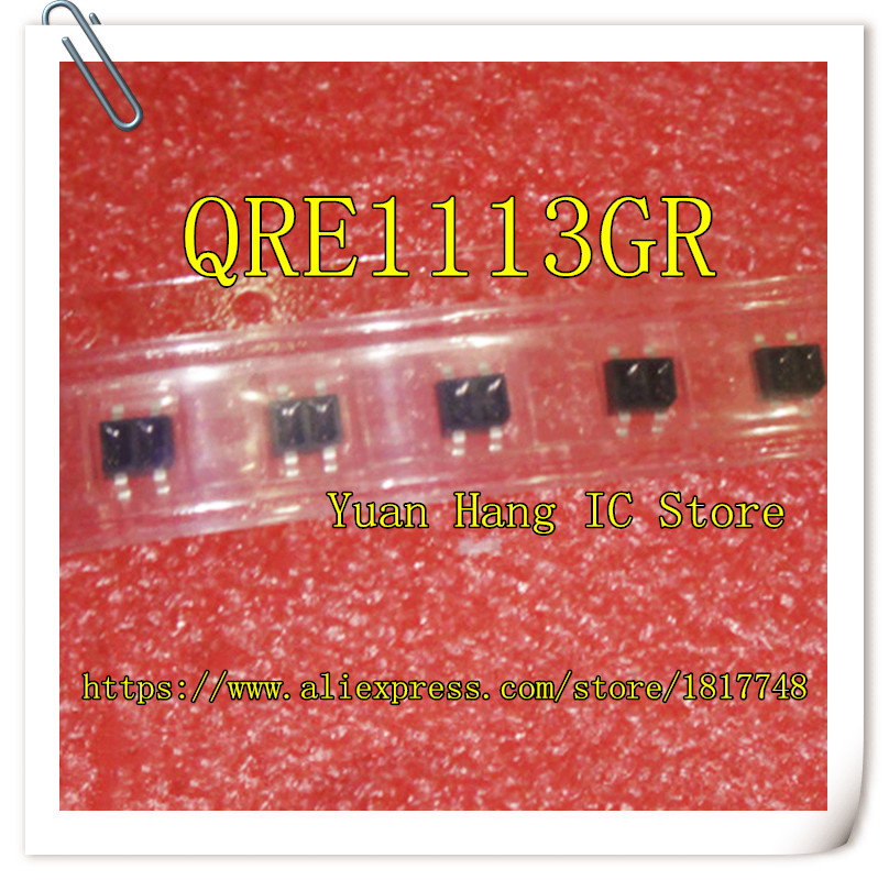 100PCS/LOT QRE1113GR QRE1113G QRE1113 SMD4 SOP4 Reflective Photoelectric Switch SMD Phototransistor
