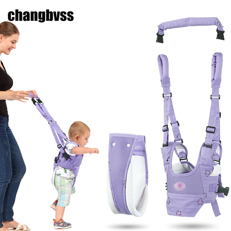 Detachable Toddler Baby Safety Harness Baby Walker Leash Backpack Multi function Baby Walking Assistant Toddler Walking Belt yourhope baby toddler harness safety learning walking assistant pink