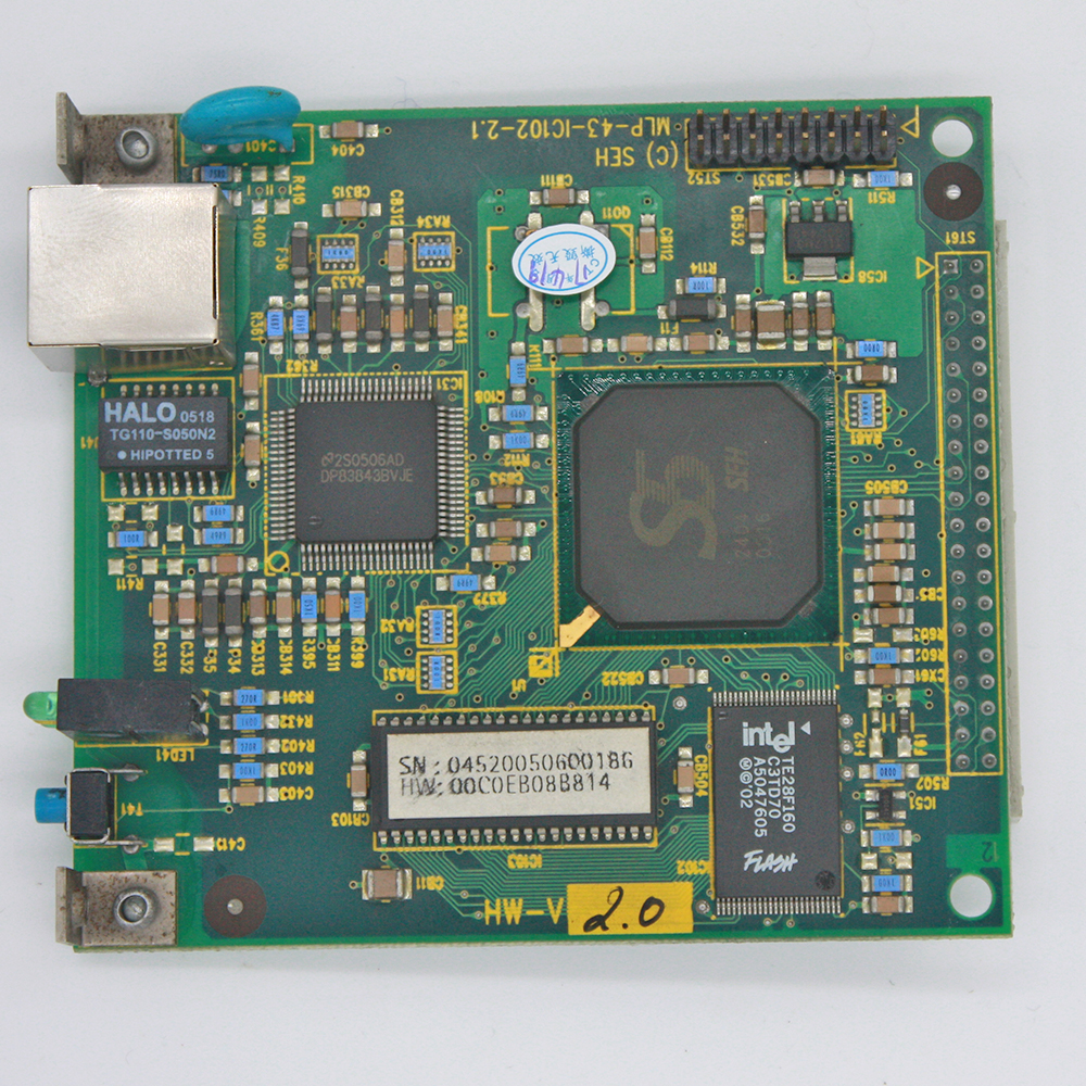 Original Roland Network Card for FJ-540 / FJ-740 roland cube 10gx