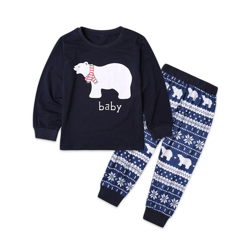 Christmas Family Pajamas Mom Daughter Clothes MAMA PAPA BABY Christmas  Pajamas Family Look Father Son Matching Clothes Sets-in Matching Family  Outfits from ... 7e3389a25