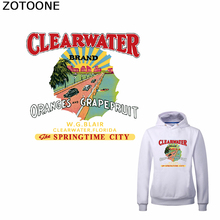 ZOTOONE Clear Water Patches for Diy Washable Iron-on Patch T-shirt Sweatshirt Applications Heat Transfer Funny Gift Kids