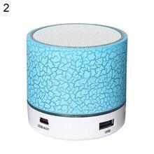 ULANZI LED Mini Portable Wireless Bluetooth Speaker Outdoor USB Music Sound Play  column