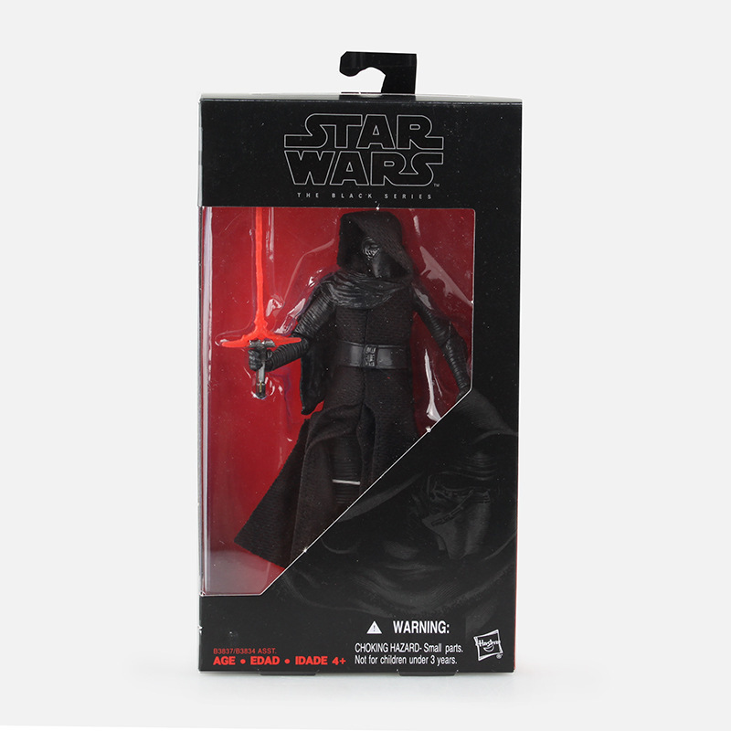 Star Wars 7 The Force Awakens The Black Series Kylo Ren Stormtrooper PVC Action Figure Collectible Model Toy 16cm new hot star wars 7 the force awakens kylo ren pvc action figure collectible model toy 16cm