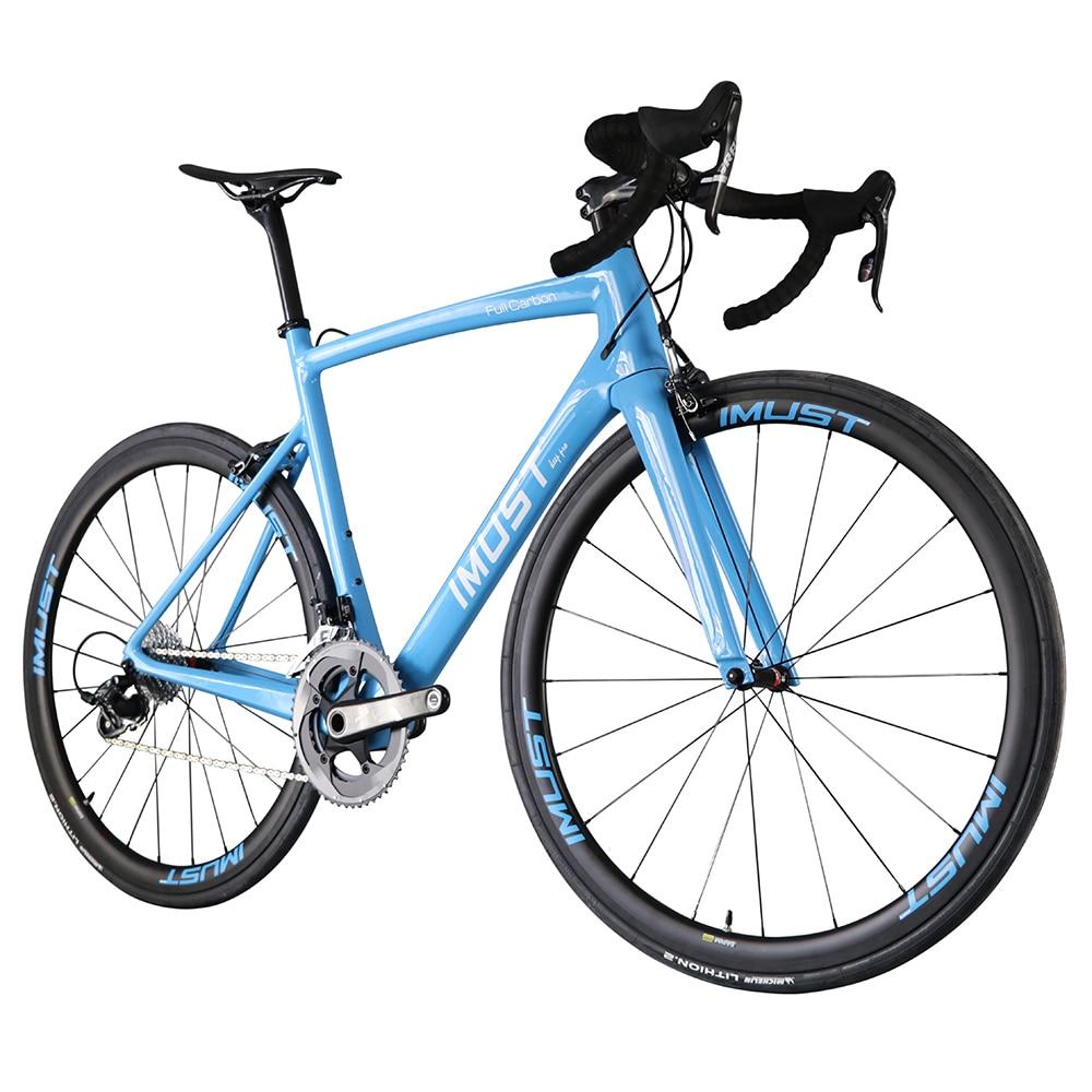 2017 Super light aero Carbon road bike 6.5kg 700C racing bikes ...