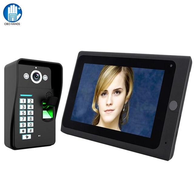 Wifi Video Intercom 7inch Video Doorphone Door Bell Camera 1000tvl
