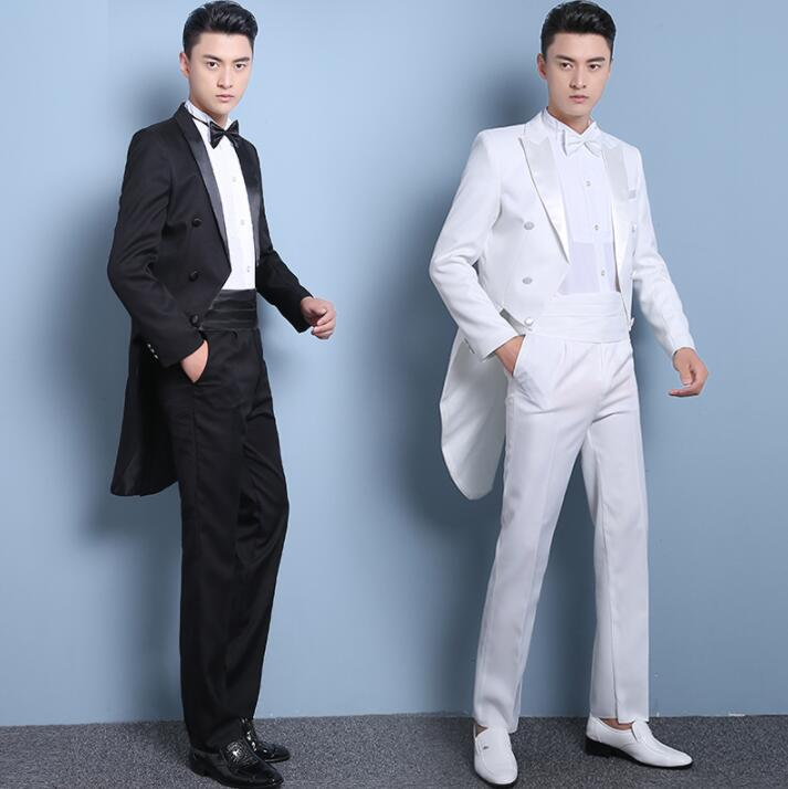 Blazer Men Formal Dress Latest Coat Pant Designs Marriage Tuxedo Suit Men Singer Terno Masculino Trouser Wedding Suits For Men's