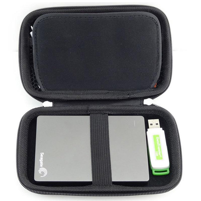 Draagbare elektronische gadgets EVA opbergtas voor HDD Power Bank USB - Home opslag en organisatie - Foto 5
