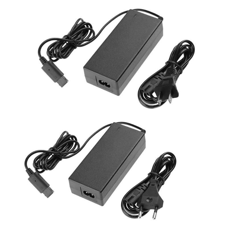 ALLOYSEED US EU Plug Game Console AC Charger Adapter DC 12V 3.25A Power Supply Cable For Nintendo Gamecube NGC Game Host Charger