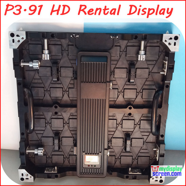 3.91mm rental led display, 2K Super clear, front open maintenance,500mm*500mm, ultra slim, high refresh rate