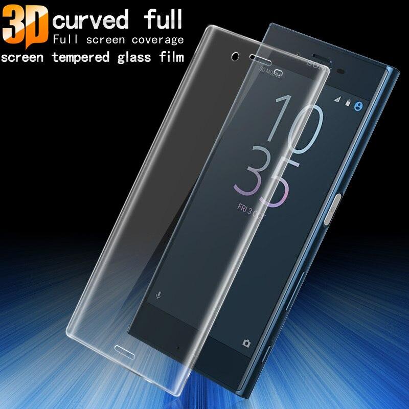 La sfor Sony Xperia XZS Écran En Verre Trempé 5.2 pouce Imak 3D protecteur Pour Sony Xperia XZs/Xperia XZ Plein Screeen Couverture verre